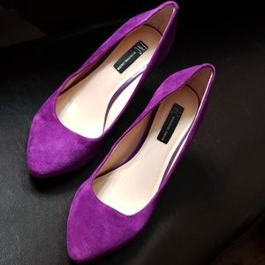 International Concepts Purple Heel